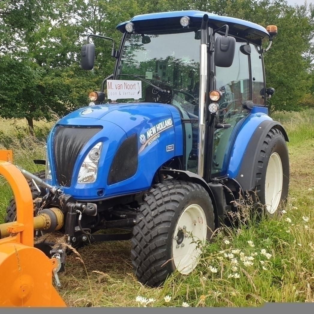New Holland Boomer 50 geleverd aan Loonbedrijf van Noort Schalkwijk