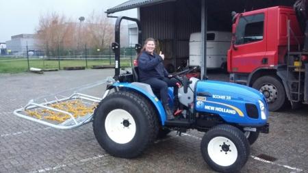 New Holland Boomer 35 voor Politie de Levende Have
