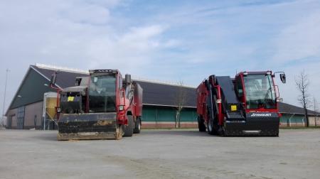Trioliet voermengwagen geleverd bij Blankenstijn in Werkhoven