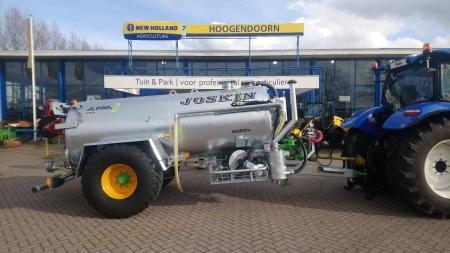 Joskin Alpina Waterwagen aan Cultuurtechniek H.G. van Dorresteijn B.V. afgeleverd