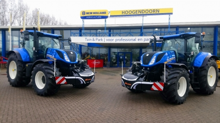 2 New Holland T7.245 afgeleverd bij Kok Lexmond