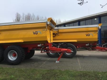 2 nieuwe VGM ZK22 kippers afgeleverd bij Van Schaik in Harmelen!