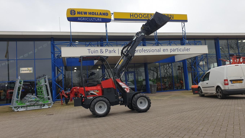 Norcar A7236 Automotive Mini-shovel geleverd bij Allurepark De Krakeling Zeist