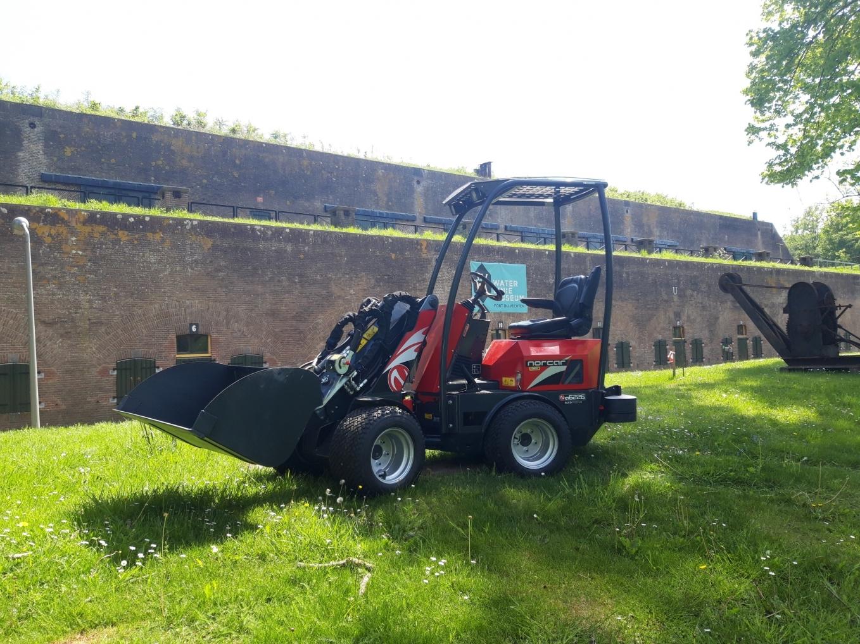 Norcar a6226 shovel geleverd aan Stichting Werk a/d Linie Bunnik