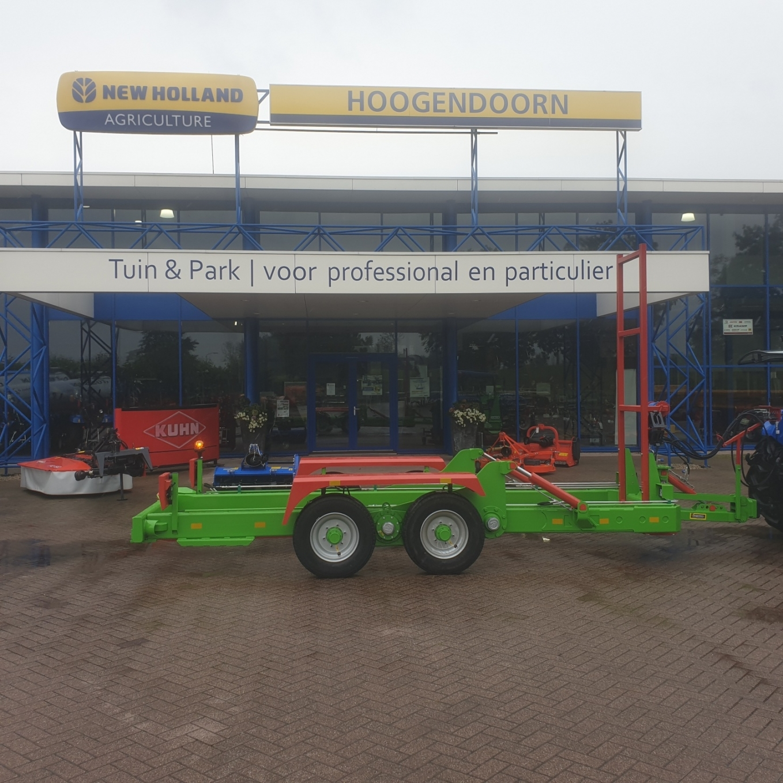 Kisten-transportwagen afgeleverd bij Fruitbedrijf van der Grift