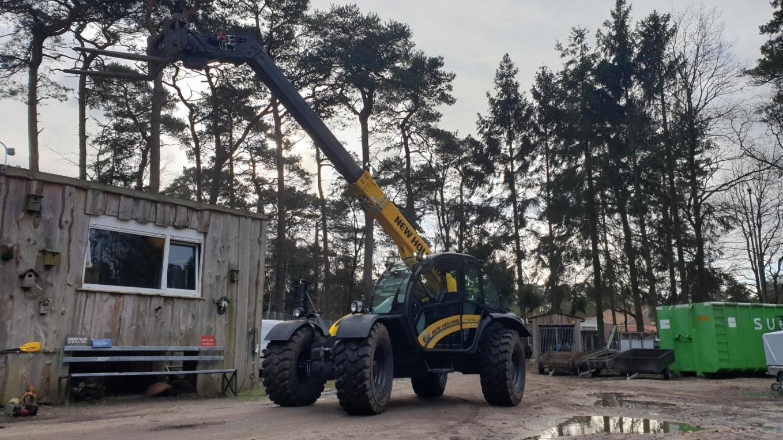 New Holland TH7.37 Elite voor Camping Het Grote Bos RCN