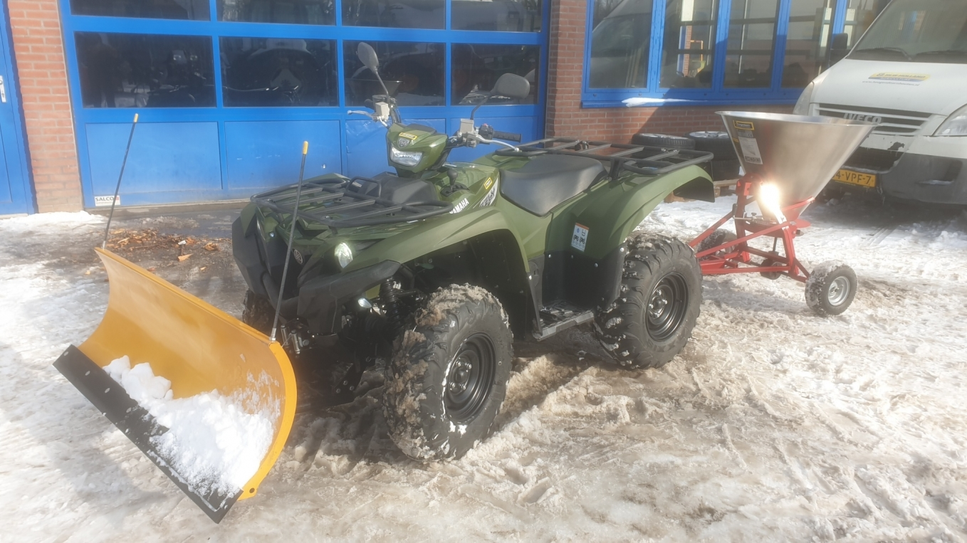 Yamaha Grizzly 700 4x4 quad geleverd aan Anso