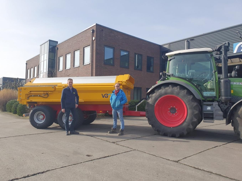 VGM ZK12 kipper geleverd aan Oostveen Bedrijven