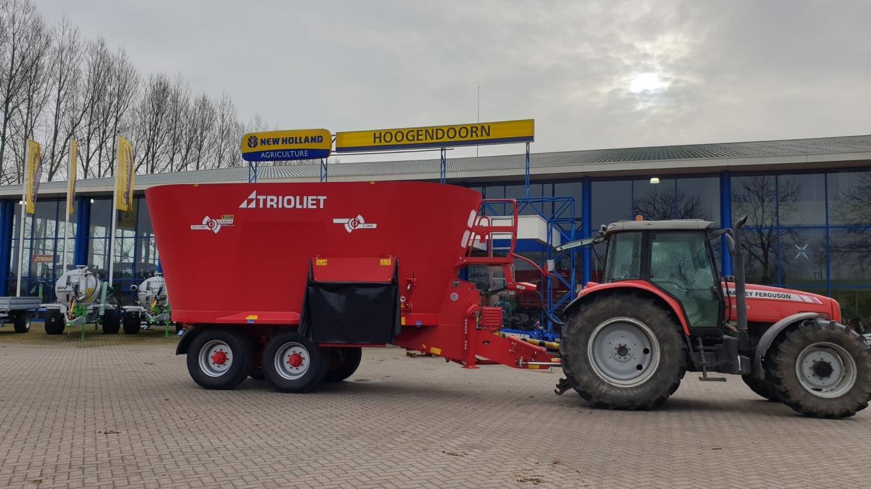 Diversen machines afgeleverd bij van de Horst Cothen