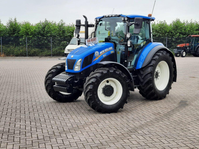 Een New Holland T5.105 voor Van Noort Verhuur-Infra-Groen