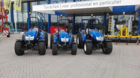 3 T3040 tractoren geleverd aan Scholman Nieuwegein