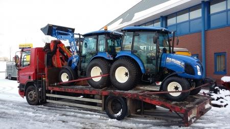 2 Boomer 50 tractoren geleverd aan de Gemeente Utrecht